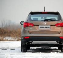 全新的现代SantaFe现在是一款采用新技术的高档SUV