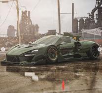 迈凯伦塞纳蝙蝠车看起来如此宽阔 没有后翼
