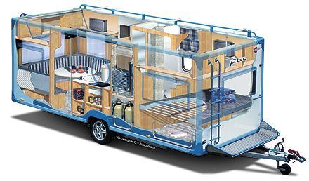 前沿汽车资讯:日产和Opus合作将旧叶电池放入露营车