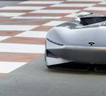 英菲尼迪Prototype 10单座高速赛车在Pebble Beach亮相