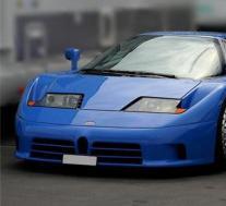 布加迪EB110展示了未来超级跑车的发展方向