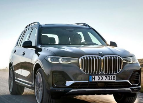 汽车动态:宝马终于推出了全新的X7旗舰SUV