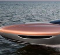 雷克萨斯通过一次性运动游艇概念为水域带来奢华