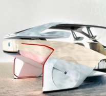 宝马在2017年消费电子展上展示了i-Inside Future