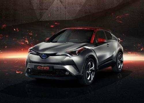 汽车头条:丰田C-HR Hy-Power混合动力车2019普拉多在法兰克福确