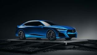 前沿汽车资讯:ura歌Type S概念车预览了运动型下一代TLX