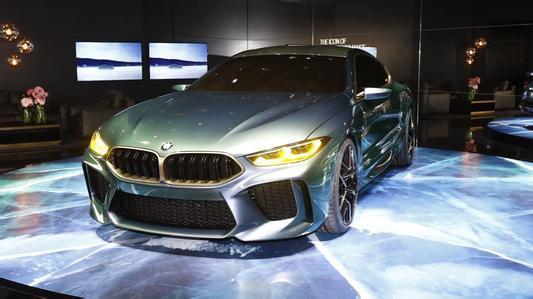 汽车动态:宝马M8 Gran Coupe的概念看起来像一个合适的M旗舰