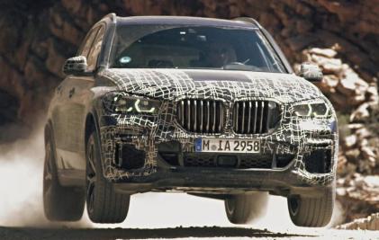 汽车头条:下一代宝马X5原型机经过测试 即将在全球首次亮相吗