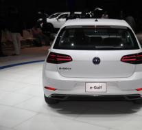 大众汽车已经如期在洛杉矶车展上发布了新款e-Golf