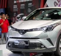 丰田C-HR终于在马来西亚进行了预览 在金属方面看起来超级好