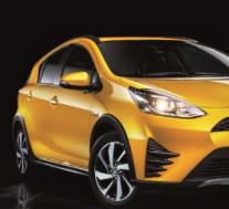 丰田普锐斯C进行了小改款 增加了Crossover变体