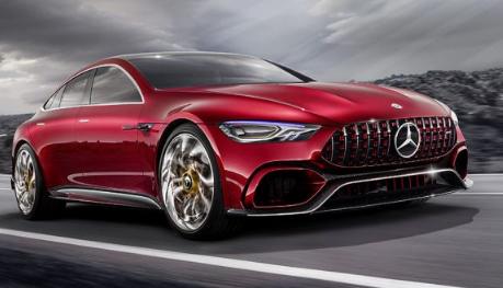 汽车头条:梅赛德斯-奔驰在日内瓦车展上推出了新的四门轿跑车概念车