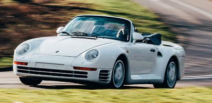 汽车头条:保时捷959'Speedster希望在Coys Techno Classica拍卖会上获得130万英镑