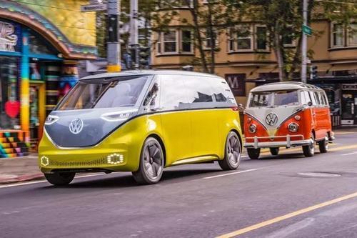 汽车动态: 最新的大众ID Buzz概念预览电动载货汽车