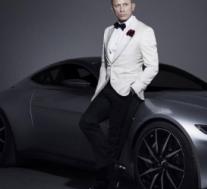 詹姆士·邦德的阿斯顿·马丁DB10即将拍卖 售价150万英镑