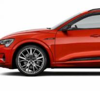 全新奥迪E-tron 品牌首款EV的发布版