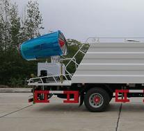 评测东风多利卡d9国六80米多功能抑尘车上装篇及底盘篇