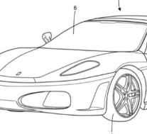 法拉利获得新的Targa Top车身设计专利