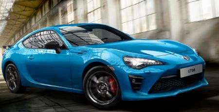 汽车头条:丰田GT86俱乐部系列蓝色版发布