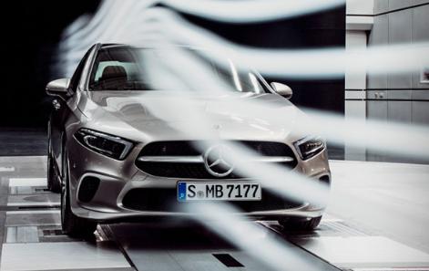 汽车头条:梅赛德斯-奔驰展示了该领域中最具空气动力学性的汽车