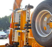 评测大运奥普力压缩式垃圾车上装篇及江铃五十铃骐铃一拖二清障车