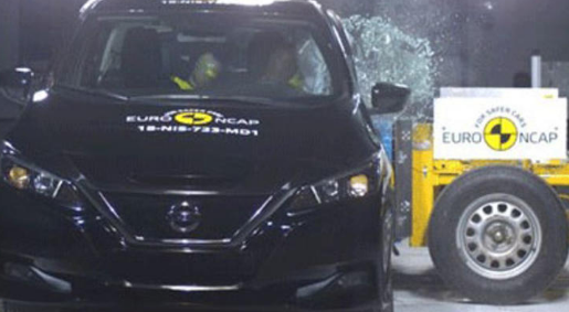 汽车头条:日产聆风在最艰难的欧洲NCAP碰撞测试中获得五颗星