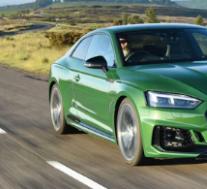 奥迪RS5使用双涡轮增压V6发动机和Quattro四轮驱动系统