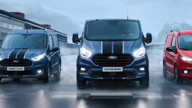 汽车动态:福特全顺定制运动在欧洲获得动力