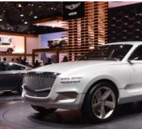 2020年劳恩斯GV80旗舰SUV首次亮相