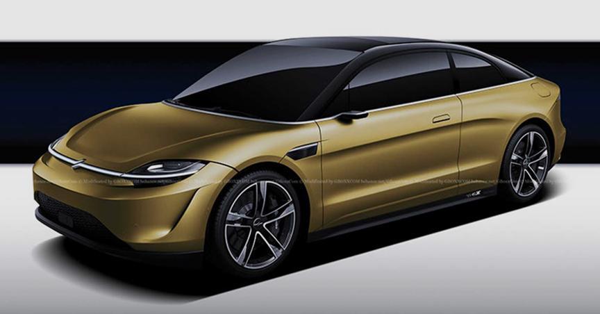 汽车动态:索尼的Vision-S Concept车可能会与Taycan正面交锋