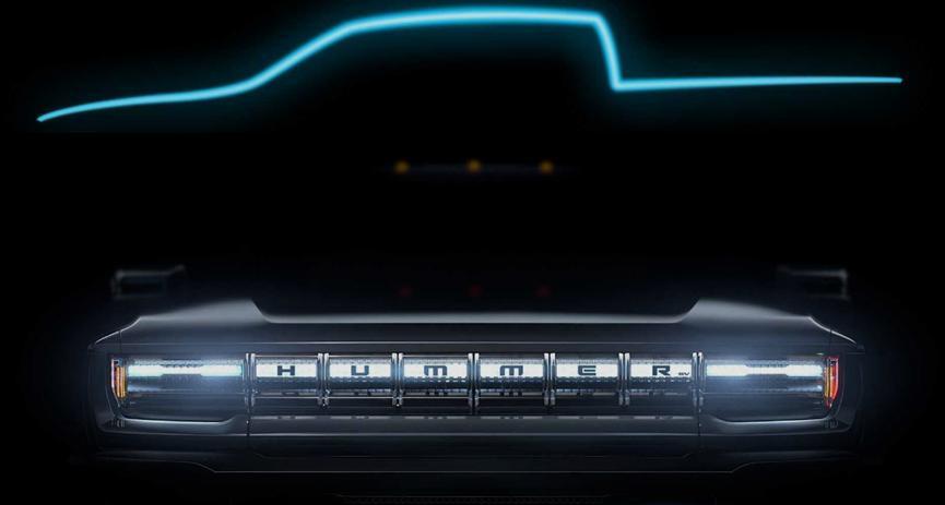 汽车动态:悍马EV是一款巨大的皮卡 带有巨大的电池