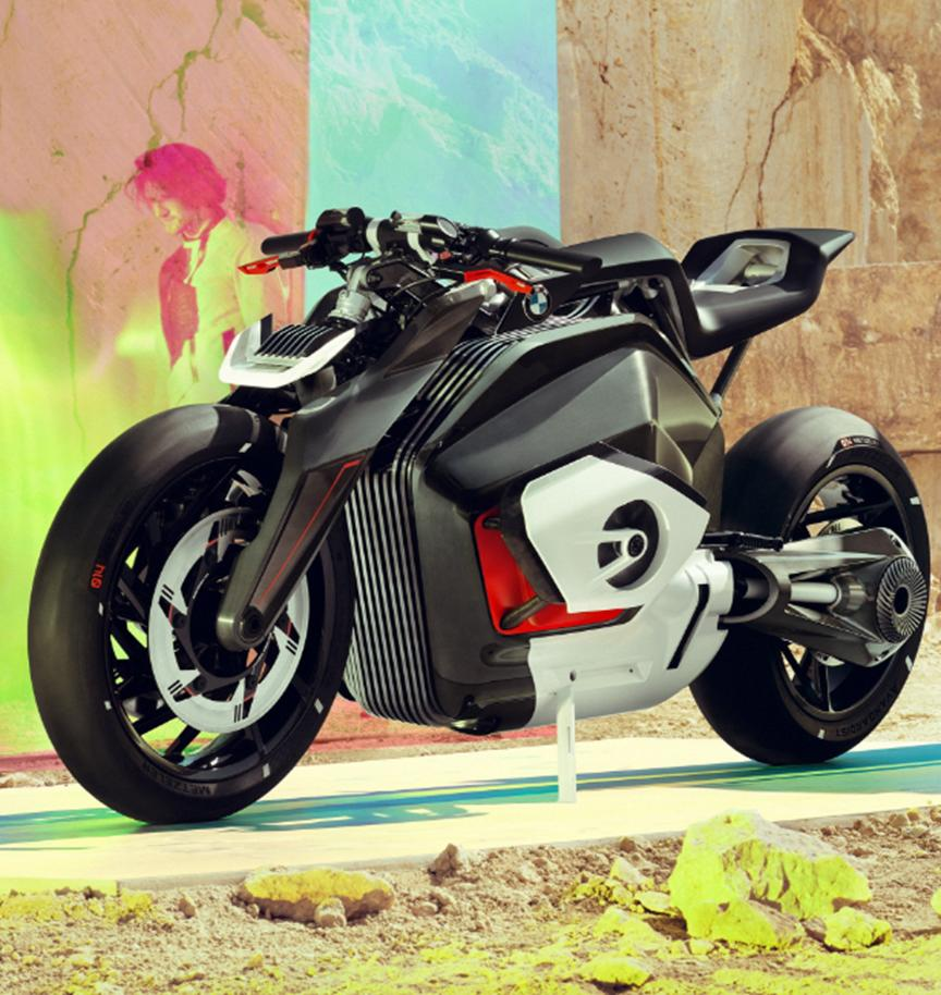 汽车动态:BMW Motorrad推出Vision DC Roadster概念车