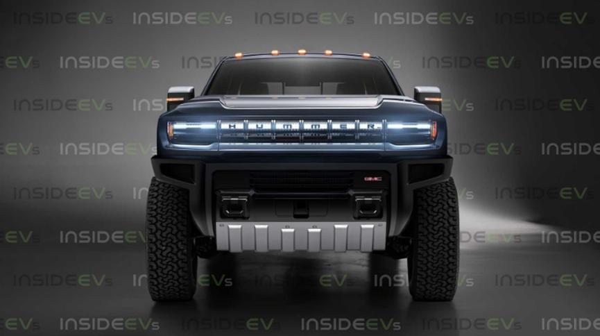 悍马电动卡车通过GMC样式提示呈现
