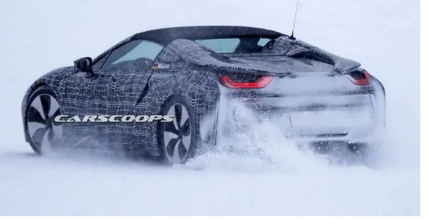 汽车动态:宝马将继续发展即将到来的i家族成员 这是在野外第二次看到i8 Spyder原型