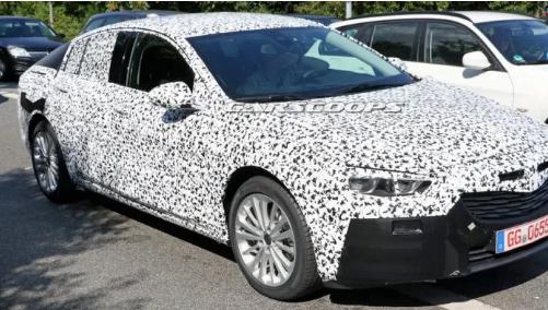 汽车头条:全新2020欧宝Insignia逐渐开始显现出一些皮肤