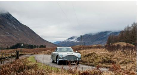 拥有阿斯顿·马丁长期以来一直是詹姆斯·邦德车迷的愿望