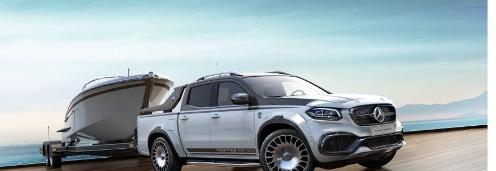梅赛德斯调谐器推出价值100,000美元的X级车身套件