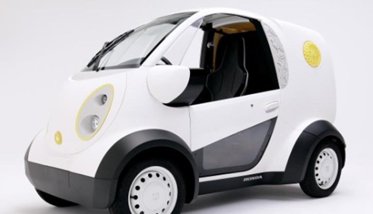 本田和Kabuku推出3D打印微型通勤車