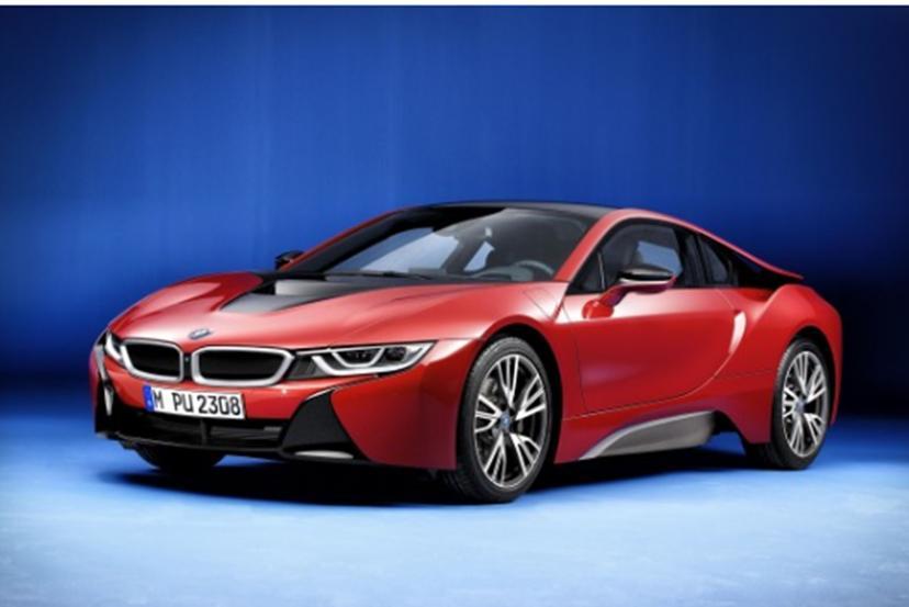 汽车头条:限量版宝马i8 Protronic红色版售价112535英镑