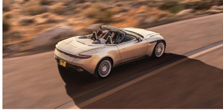 汽车头条:阿斯顿·马丁DB11 Volante曝光英国品牌释放双涡轮增压机顶盒
