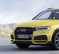 可以看到全新的2020 Audi Q3的外观变化