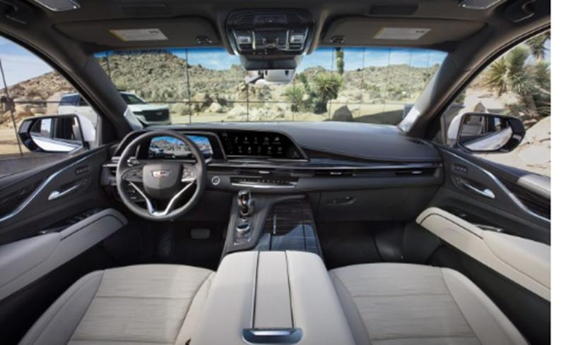 凯迪拉克推出具有420 HP 曲面OLED屏幕和36扬声器音响系统的2021 Escalade