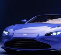 2021年阿斯顿·马丁Vantage Coupe带有手动变速箱