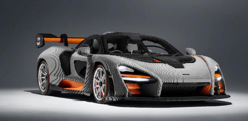 汽车头条:乐高迈凯轮塞纳有超过467800件个人作品
