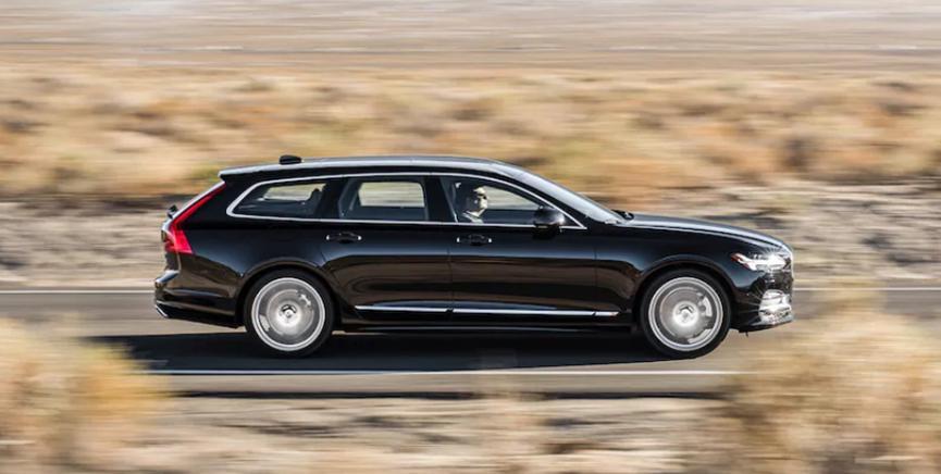 Volvo V90的某些功能只能与特斯拉相提并论