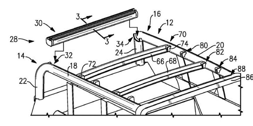 专利揭示新福特野马可能会获得可伸缩的布顶选项