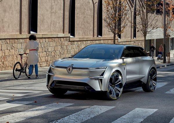 雷诺发表全新电动概念车Morphoz
