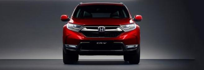 汽车动态:本田的全新CR-V刚刚以其第五代外观发售了