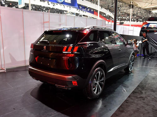 下一个标志4008将是SUV coupe