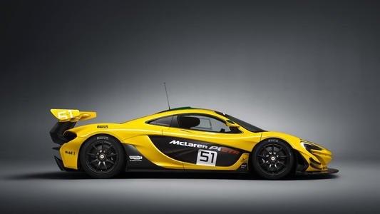汽车动态:火山黄色迈凯轮P1与只有3英里的时钟出售